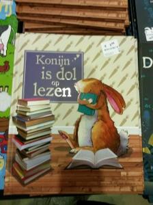 Boekenfestijn konijn