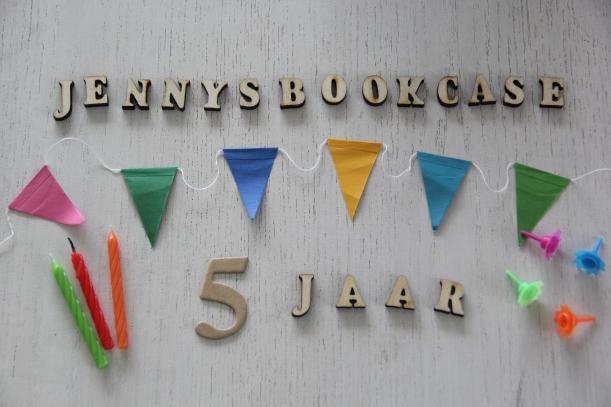 Jennysbookcase 5 jaar
